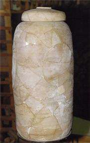 Reassembled jar from the Dead Sea Scrolls