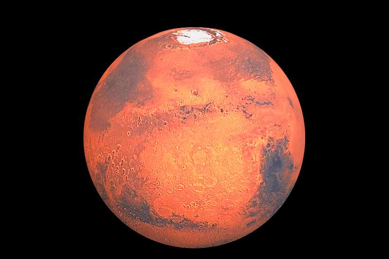 The red planet Mars