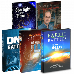 Earth Battles, Universe Battles, DNA Battles, Starlight and Time, Testing Evolution